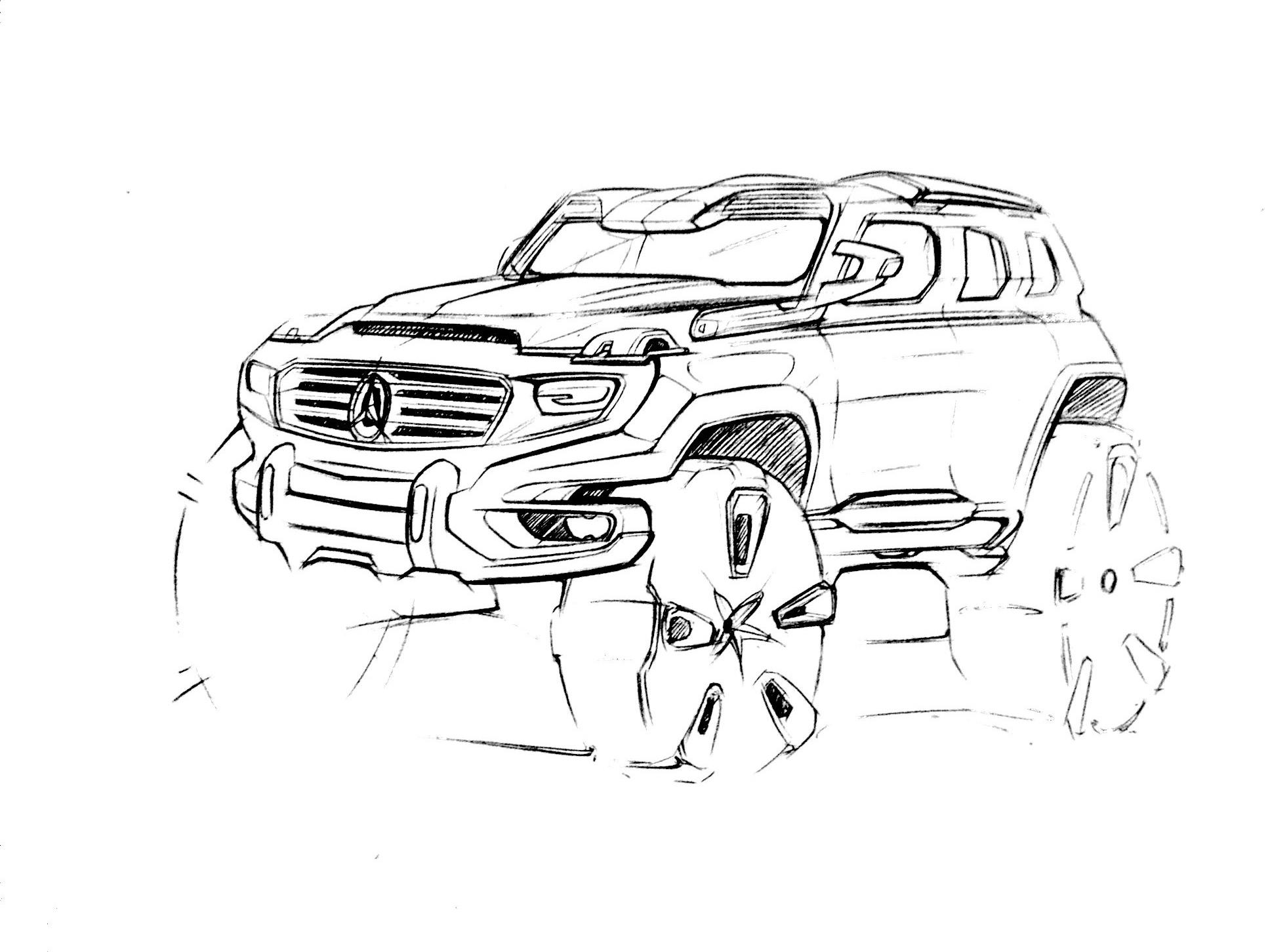 交通工具手绘