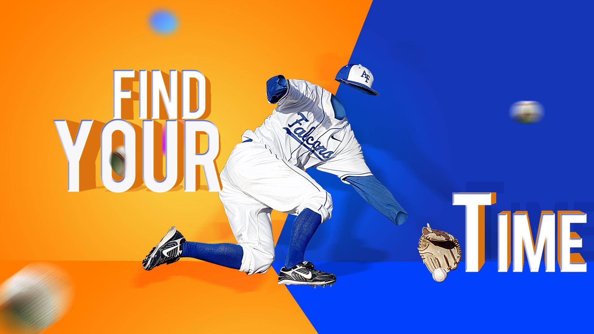 棒球运动海报