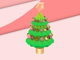 圣诞树装饰素材Christmas tree