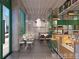 广东广州—啡茶香饮品店设计