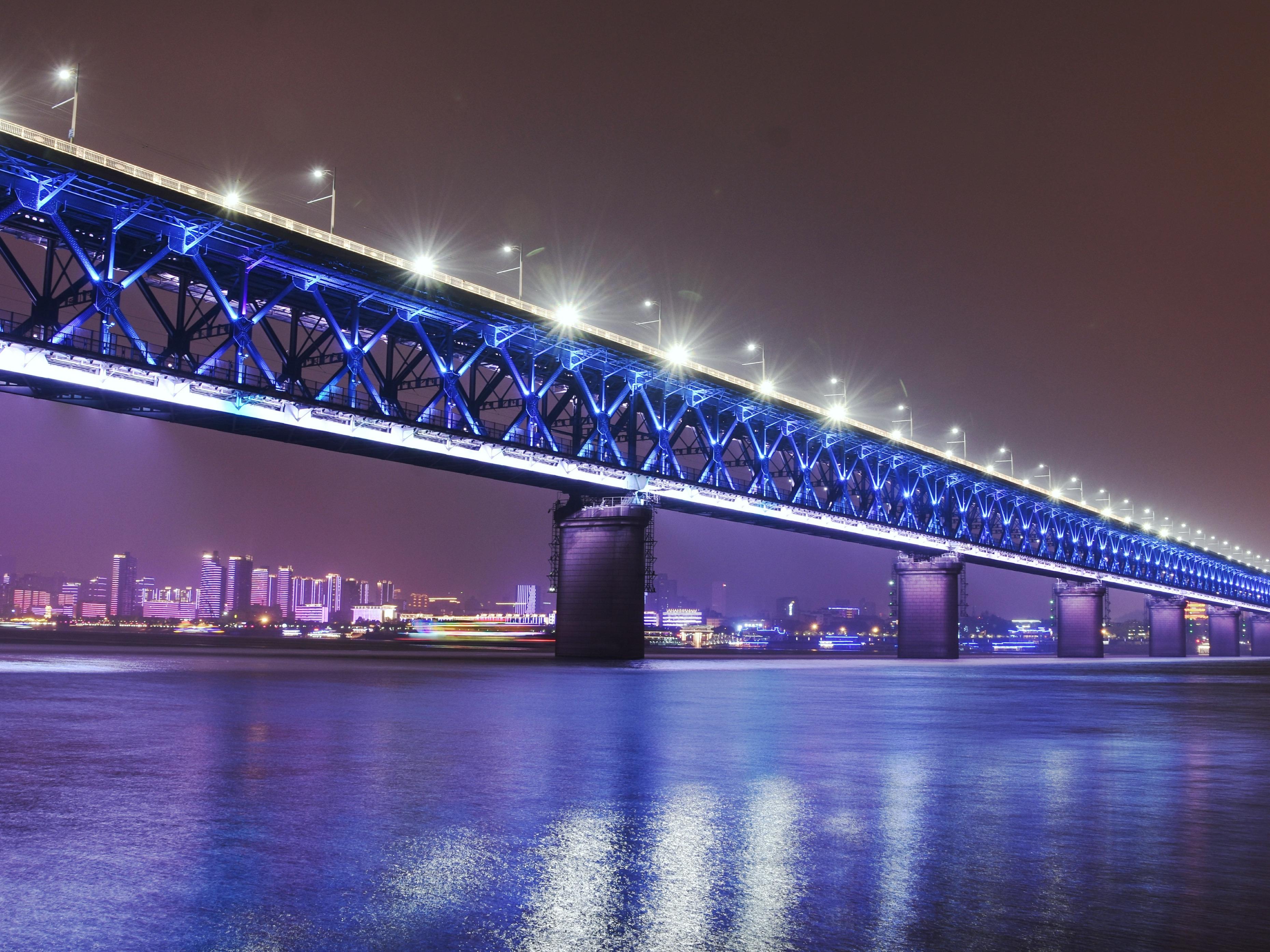 武汉长江大桥--武汉鹦鹉洲长江大桥图片