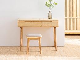 小半梳妆台|dresser | 产品实拍图 | 房物 funwood
