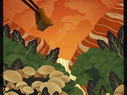 商业墙绘及系列海报