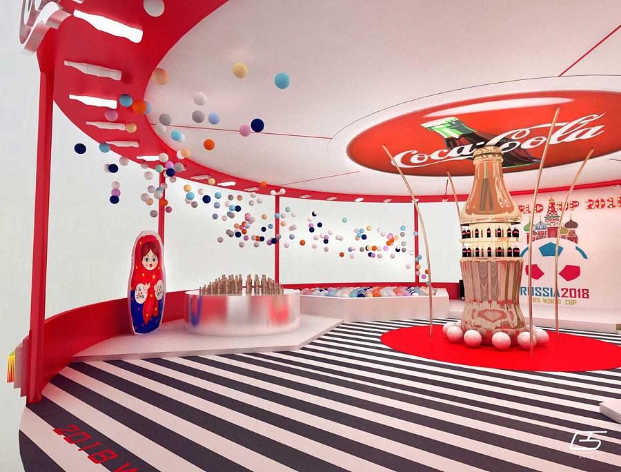gs project - 可口可乐世界杯路演|展示设计 |空间|居图片