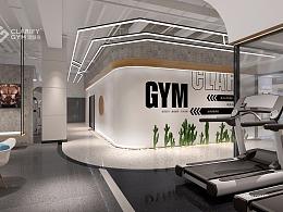 Clarify Gym主题健身房设计