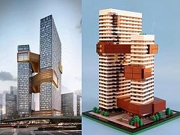近期两款产品:腾讯滨海大厦和《传奇世界3D》沙城