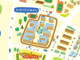 手绘地图4.0 - 西湖大学