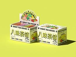 小獾xiaohuan-茶饮品牌包装设计