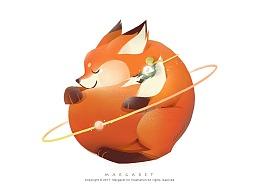 我的这颗星球「小王子与狐狸」
