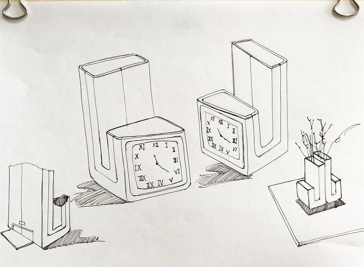 早年的手绘|工业/产品|生活用品|monica_001 - 临摹