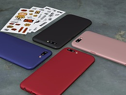 OPPO手机硬壳的产品展示