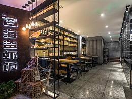 餐饮空间设计_海盗虾饭北京店
