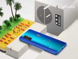 vivo V17 海外新品创意海报拍摄
