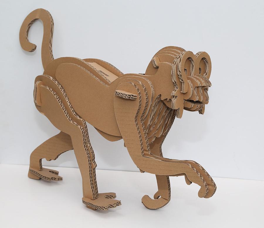 纸艺-动物世界