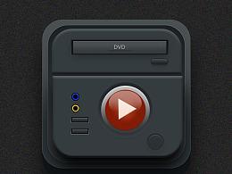 DVD按键—写实图标—日常联系