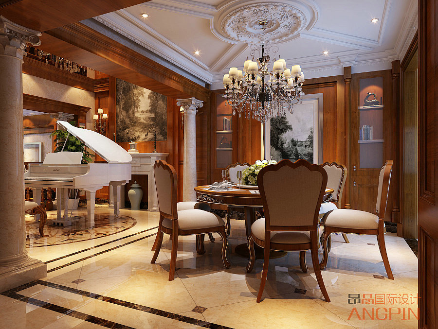 贵阳空间部门装修设计案例v空间!|室内设计|高端房地产平面设计属于哪个别墅图片
