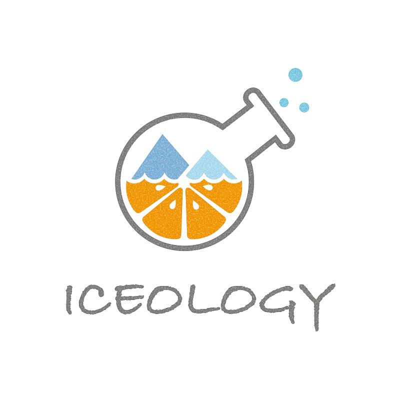 冰式甜品店logo设计图片