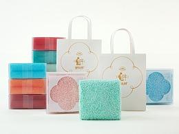容品牌:勤劳毛巾厂-中式美学毛巾第一品牌全案&包装