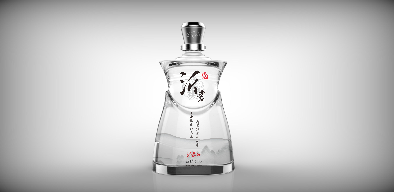 沂蒙山 白酒 包装设计图片