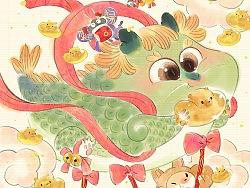 新年快乐 初五破五福禄寿陪你玩一整年