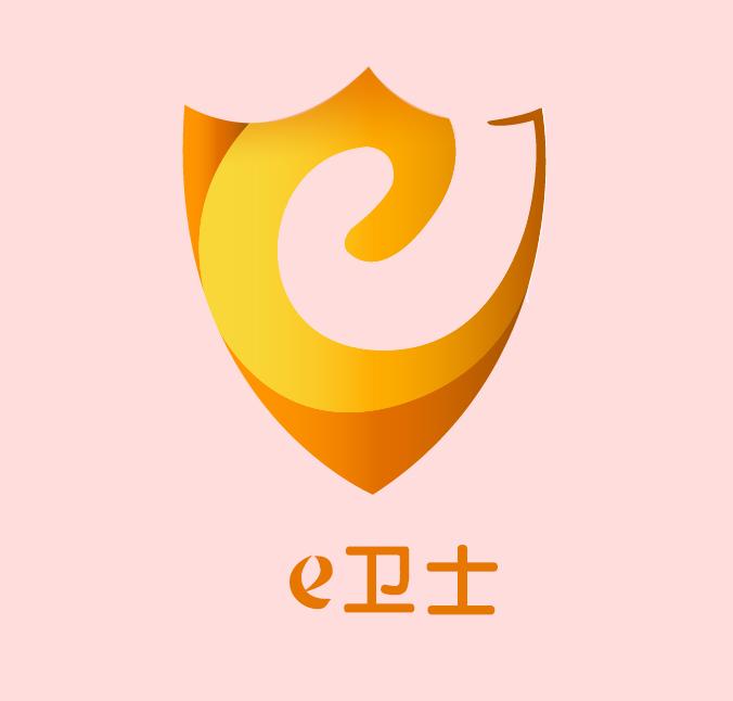 e卫士网站的 banner logo制作