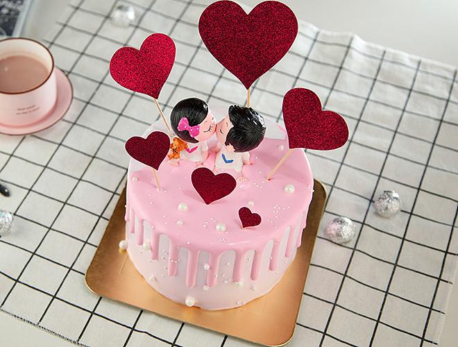 时指间陶艺店diy烘焙蛋糕图片