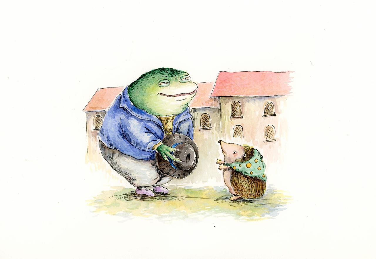 手绘水彩|插画|儿童插画|胡叨叨 - 原创作品 - 站酷