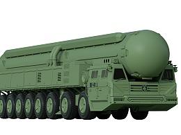 """C4D教程:制作国庆阅兵大真理""""东风-41洲际导弹"""""""