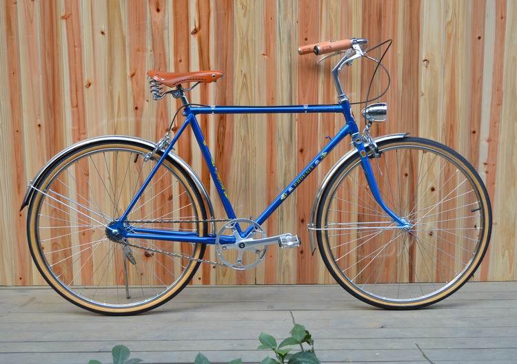 凤凰老式自行车改装复古自行车