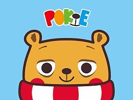 小熊吉祥物应用设计