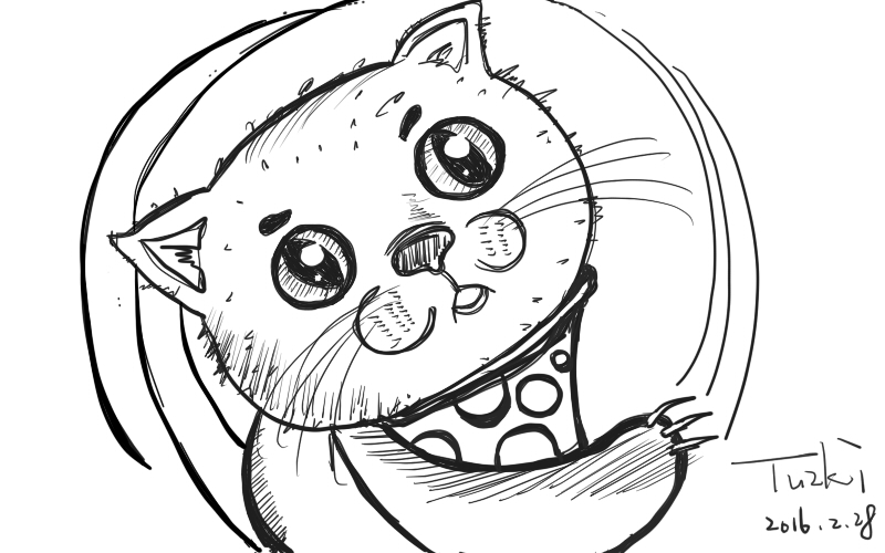 原创作品:我的猫咪头像