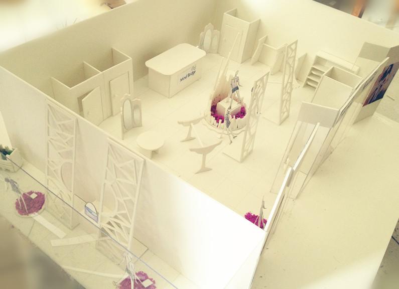 大三橱窗展示课程作业|空间|展示设计 |小女超人
