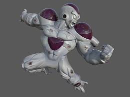 七龙珠弗利萨3D雕像