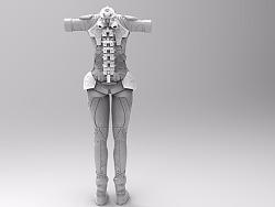 脑洞外骨骼和配套不完全设定