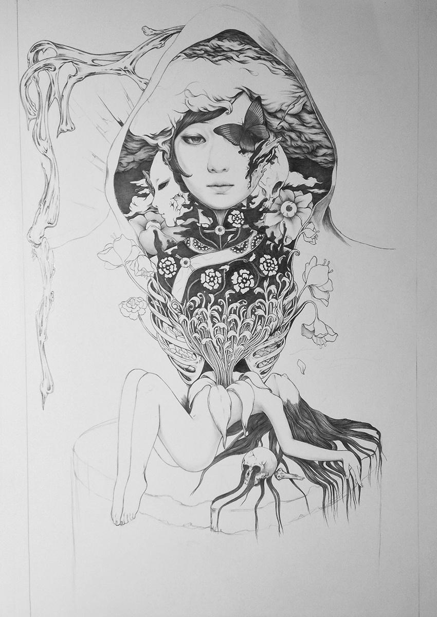 手绘海报|插画|商业插画|gedoo - 原创作品 - 站酷