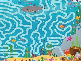 海底迷宫 儿童益智游戏