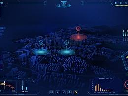 可视化大数据智慧景区安防平台