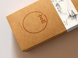 中国风素雅留白标志设计