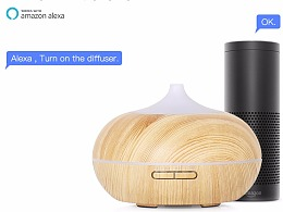 亚马逊智能加湿器 语音控制 香薰机 品牌:GX.Diffuser