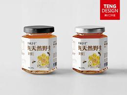 TENG DESIGN原创设计 /  蜂蜜标签设计