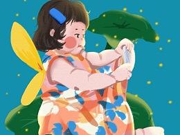萌娃的小小世界——动态插画合集