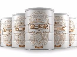 纽富蛋白质粉品牌设计  天然健康 好吸收!