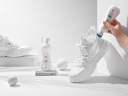 立白小白鞋产品拍摄