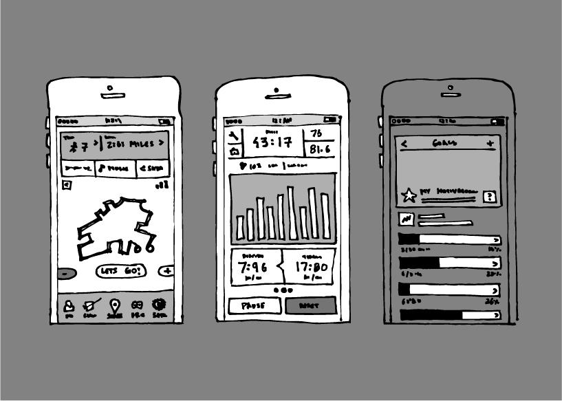 app手绘线框图|ui|流程/ue|suixinzhu - 原创作品