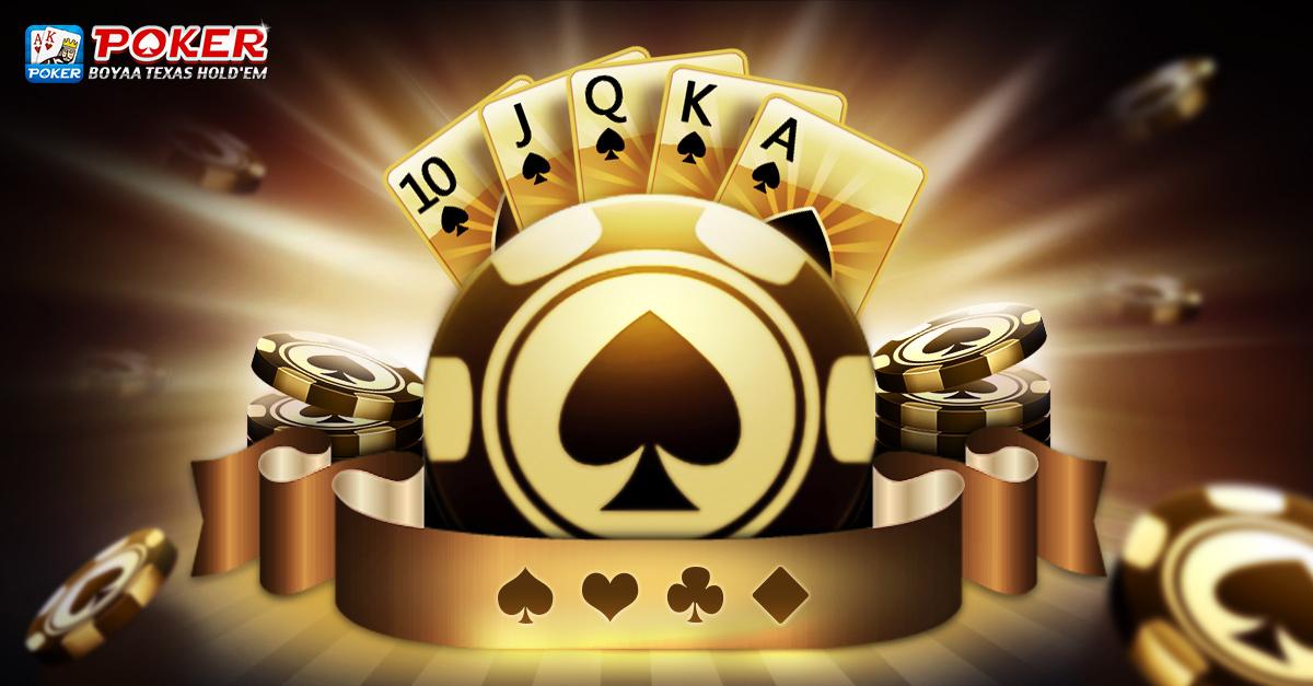 广告设计-banner-棋牌-游戏宣传图-金色-黑金-扑克赛事