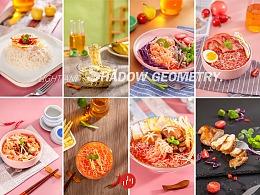 代餐即食食品拍摄魔芋面条凉皮拍摄成都美食拍摄