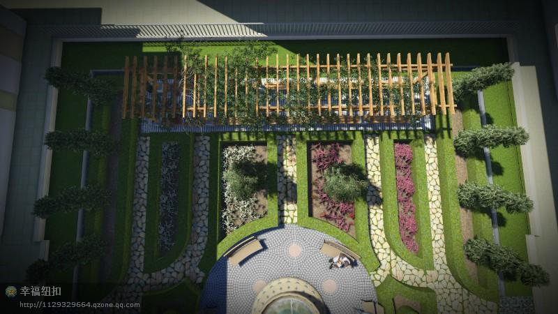 三亚中庭景观设计 园林景观/规划 空间/建筑 peng