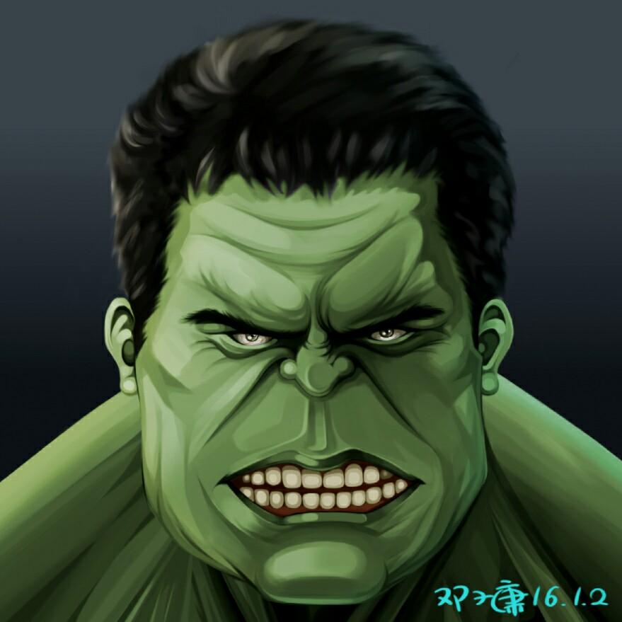 绿巨人 卡通图片
