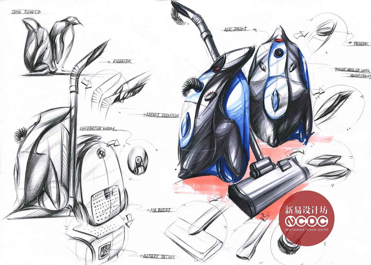工业设计考研版面;工业设计考研手绘|工业/产品|生活