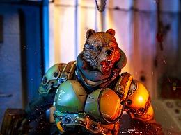 Blackl 13 Park 燼燃/重裝壓制作戰部隊/ 棕熊